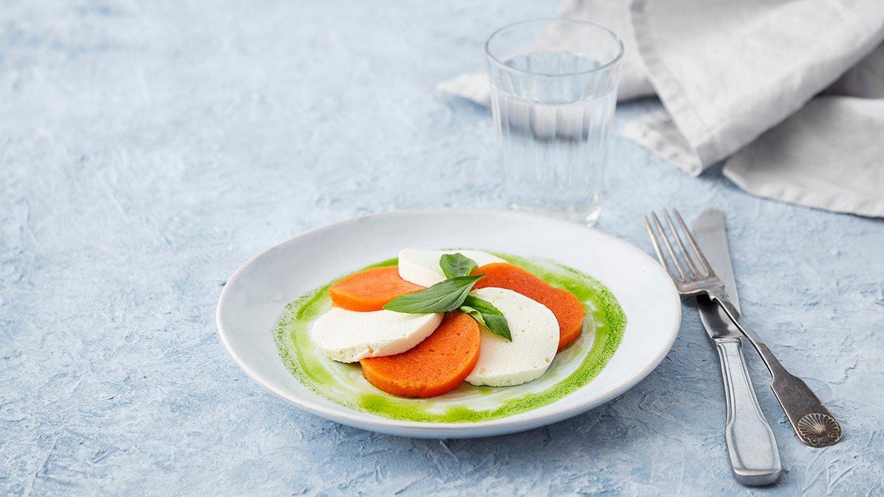 Tomat- og mozzarellasalat – Oppskrift