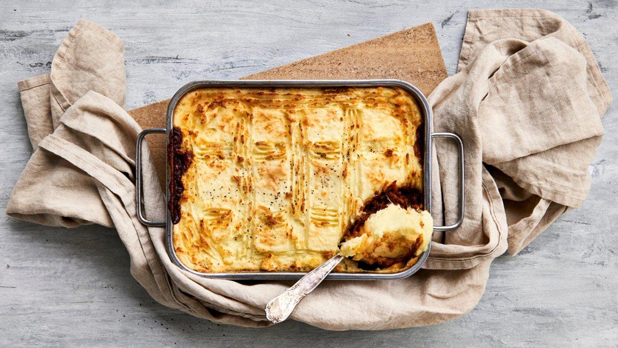 Vegetarisk Shepherd`s pie – Oppskrift