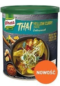 Żółta pasta curry Knorr 0,85kg