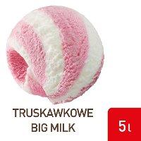 Algida Lody Truskawka Big Milk