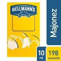 Hellmann's Majonez w saszetkach 10 ml x 198 saszetek