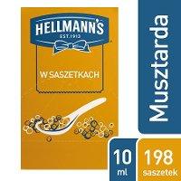 Hellmann's Musztarda w saszetkach 10 ml x 198 saszetek