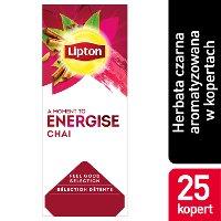 Lipton Classic Chai (Czarna herbata wzbogacona smakiem cynamonu, goździków i kardamonu) 25 kopert