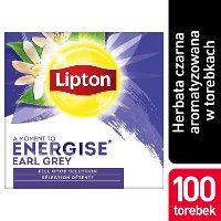 Lipton Classic Earl Grey (Czarna Herbata z aromatem bergamotki) 100 kopert