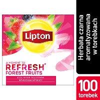 Lipton Classic Forest Fruits (Czarna Herbata z orzeźwiającą nutą owoców leśnych) 100 kopert