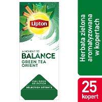 Lipton Classic Green Tea Orient (Zielona herbata z delikatną nutą orientalnych przypraw) 25 kopert