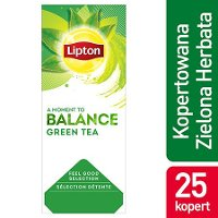 Lipton Feel Good Selection Green Tea (Zielona Herbata Klaryczna) 25 kopert