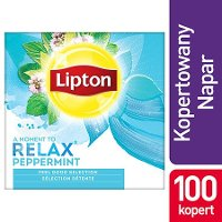 Lipton Feel Good Selection Peppermint (Herbatka miętowa) 100 kopert