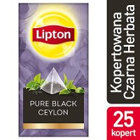 Lipton Piramida Ceylon (Czarna herbata) 25 kopert