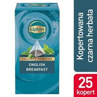 Lipton Piramida English Breakfast (Kompozycja czarnych herbat) 25 kopert