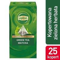 Lipton Piramida Green Tea Matcha (Zielona Herbata) 25 kopert