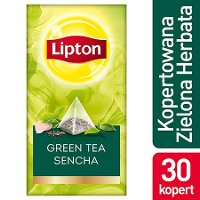 Lipton Piramida Green Tea Sencha (Zielona herbata) 25 kopert