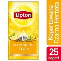 Lipton Piramida Lemon (Cytrynowa) 25 kopert