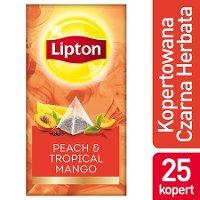Lipton Piramida Peach Mango (Brzoskwinia & Mango) 25 kopert