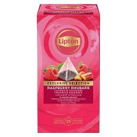 Lipton Piramida Raspberry & Rhubarb Infusion (Malinowo-rabarbarowa) 25 kopert
