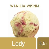 Lody Wanilia-wiśnia Carte d'Or