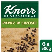 Pieprz czarny ziarnisty z Wietnamu Knorr Professional 0,5 kg