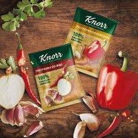 Próbki Przypraw Knorr Professional 100% naturalnych składników