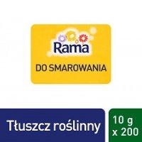 Rama jednoporcjowy tłuszcz do smarowania 200 x 10 g