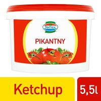 Tortex Ketchup pikantny  5,5 kg