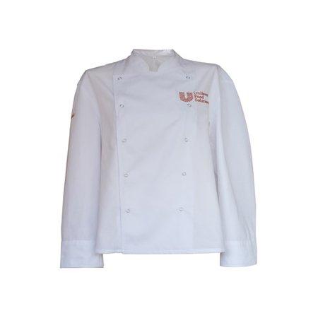 Bluza kucharska biała galowa XL