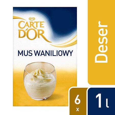 Carte d'Or Mus Waniliowy 1L x 6