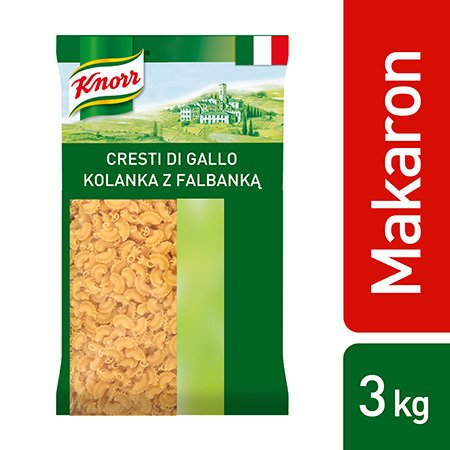 Cresti di gallo (Kolanka z falbanką) Knorr 3kg -