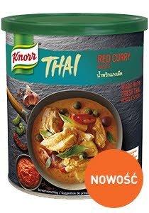 Czerwona pasta curry Knorr 0,85kg