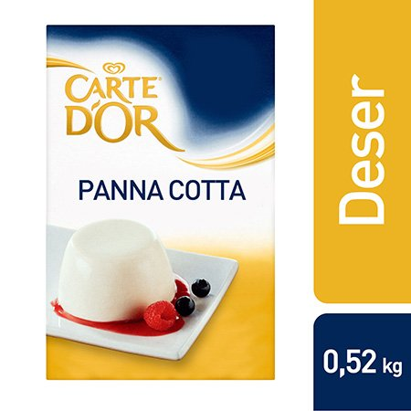 Deser Panna Cotta Carte d'Or 0,52 kg -