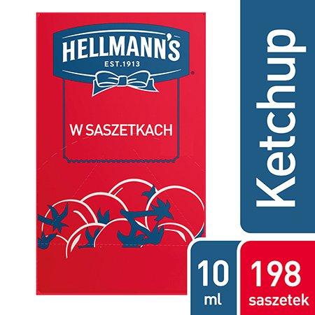 Hellmann's Ketchup w saszetkach 10 ml x 198 saszetek -