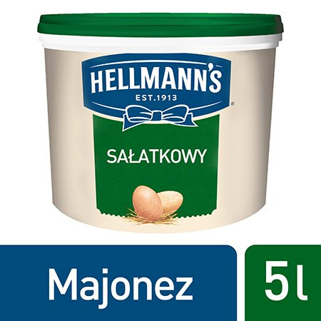 Hellmann's Majonez do sałatek 5 l -