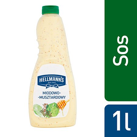 Hellmann's Sos miodowo-musztardowy 1l