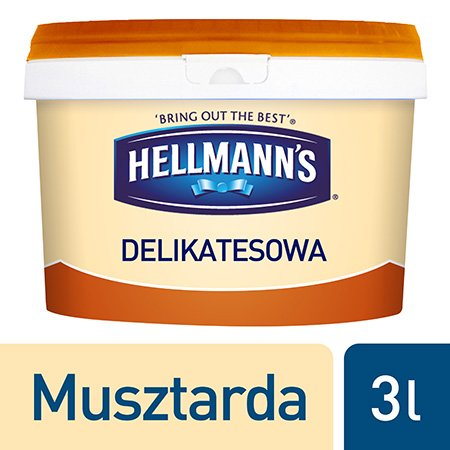 Hellmann's Musztarda delikatesowa 3 kg -