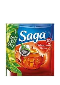 Herbata Saga 50 torebek ekspresowych