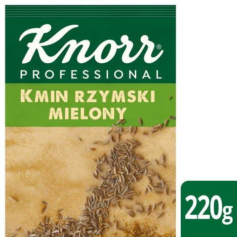 Kmin rzymski mielony z Indii Knorr Professional 0,22 kg -