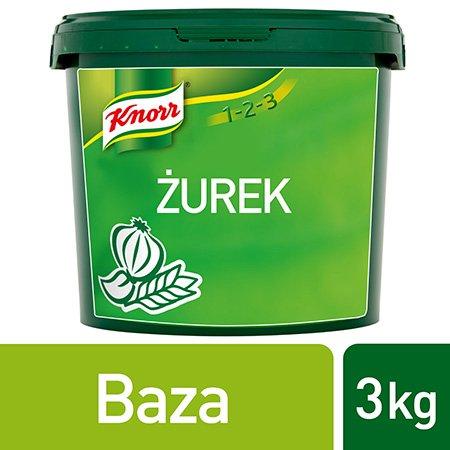 Knorr 1-2-3 Żurek 3 kg -