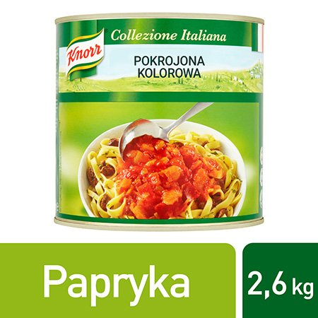 Knorr Peperonata Pokrojona kolorowa papryka 2,6 kg