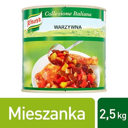 Knorr Ratatouille Mieszanka warzywna 2,5 kg
