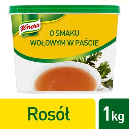 Knorr Rosół o smaku wołowym w paście 1 kg -