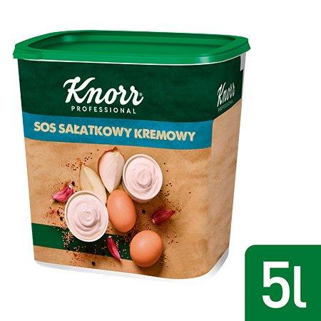 Knorr Sos sałatkowy kremowy 100% naturalnych składników 0,55 kg -