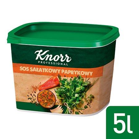 Knorr Sos sałatkowy paprykowy 100% naturalnych składników 0,5 kg -