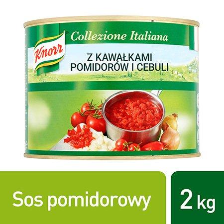 Knorr Tomato Pronto Sos pomidorowy z kawałkami pomidorów i cebuli 2 kg