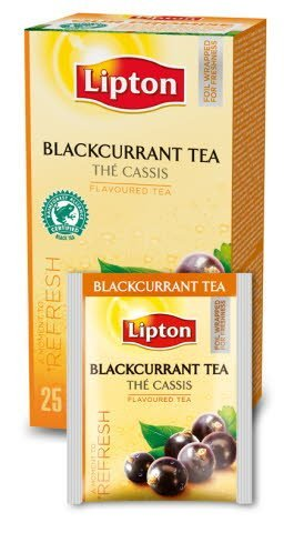 Lipton Classic Blackcurrant (herbata czarna z nutą czarnej porzeczki) 25 kopert