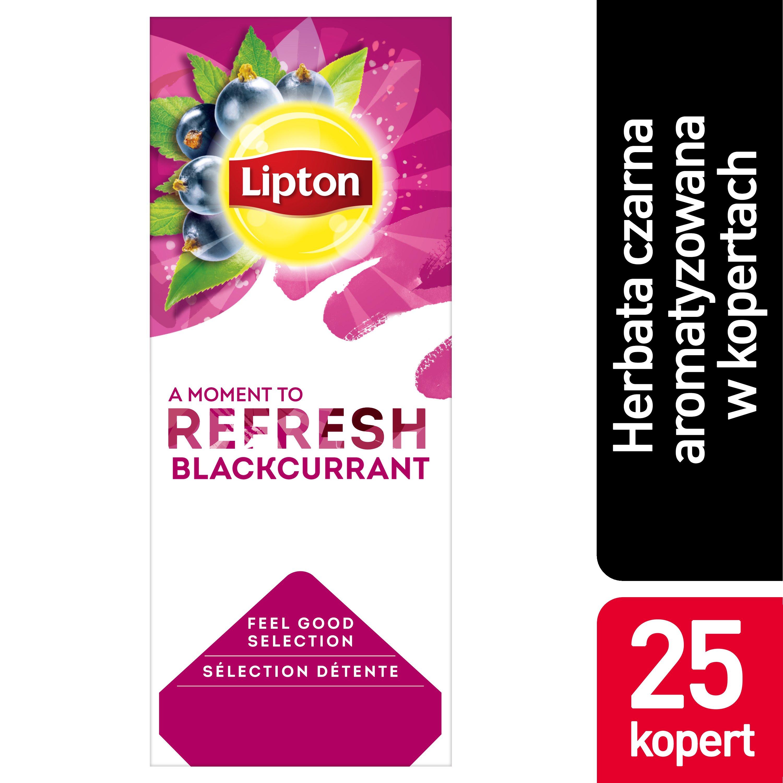 Lipton Classic Blackcurrant (herbata czarna z nutą czarnej porzeczki) 25 kopert -