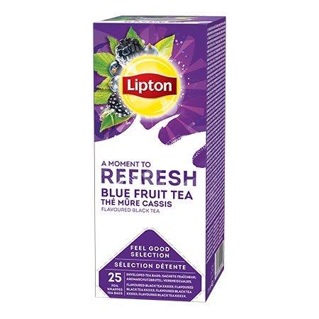 Lipton Classic Blue Fruit Tea (herbata czarna z nutą owoców jagodowych) 25 kopert