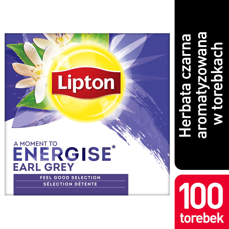 Lipton Classic Earl Grey (Czarna Herbata z aromatem bergamotki) 100 kopert -