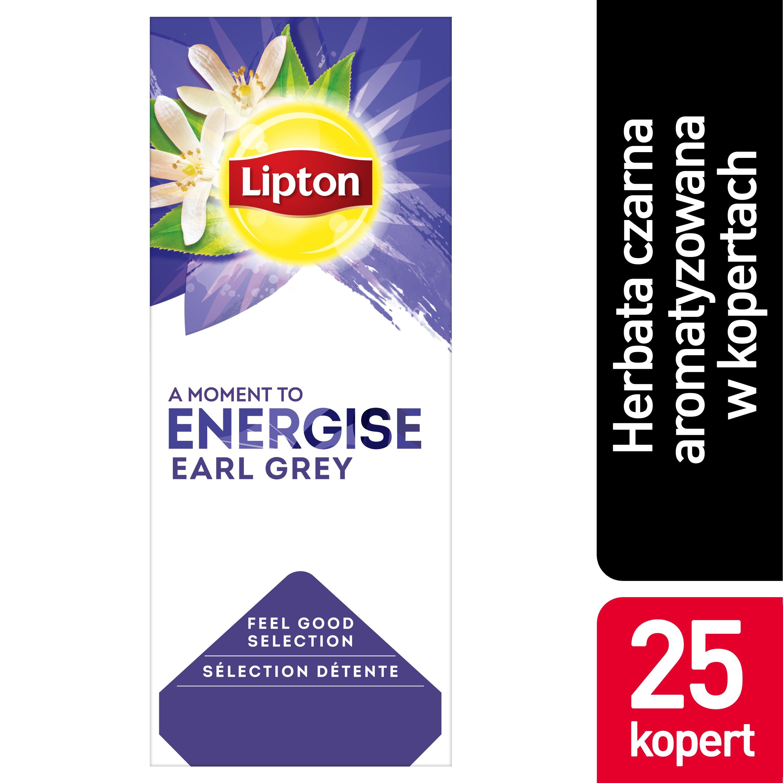 Lipton Classic Earl Grey (Czarna Herbata z aromatem bergamotki) 25 kopert -