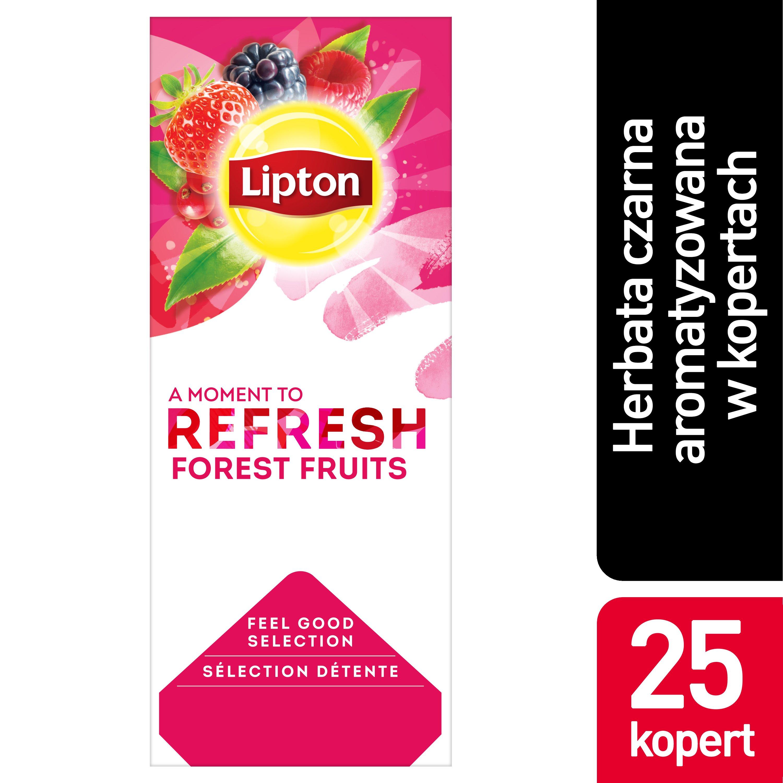 Lipton Classic Forest Fruits (Czarna Herbata z orzeźwiającą nutą owoców leśnych) 25 kopert  -