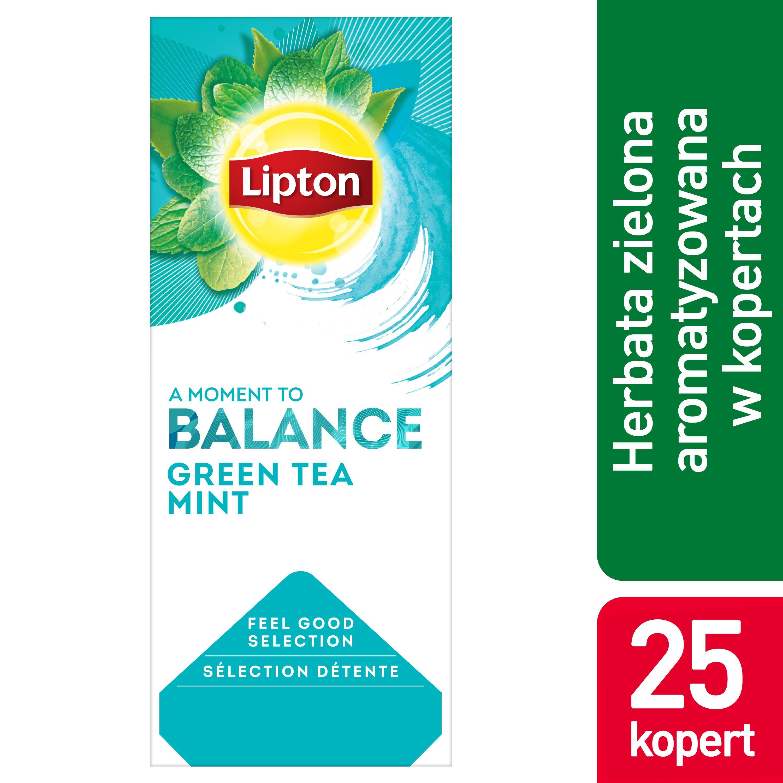 Lipton Classic Green Tea Mint (Zielona Herbata z dodatkiem mięty) 25 kopert
