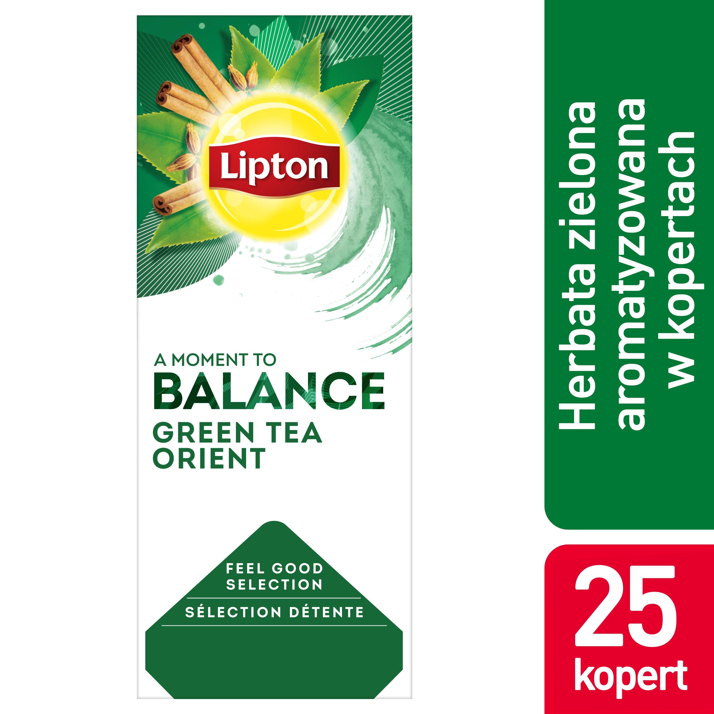 Lipton Classic Green Tea Orient (Zielona herbata z delikatną nutą orientalnych przypraw) 25 kopert -